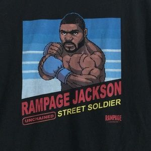 Rampage Jackson Unchained Street Solider T-Shirt